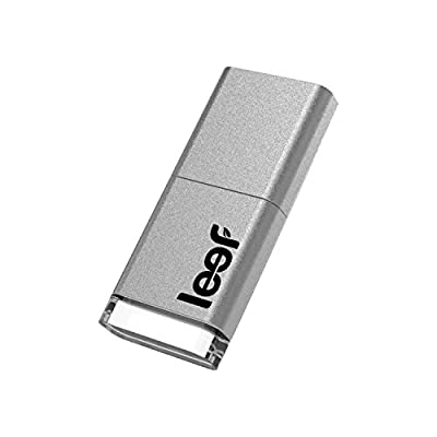 Leef Magnet USB 3.0 16GB USB Flash Drive with LED, Magnet Cap and PrimeGrade Memory (Silver)