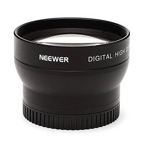 Neewer® Deluxe 37Mm Telephoto Lens 2 X Professional Hd For All Cameras & Camcorders With 37Mm Size Lens Filter Thread!!!