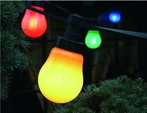 Luci per party 10 m con risparmio di energia 10 lampadine for Lampadine led e27 da esterno