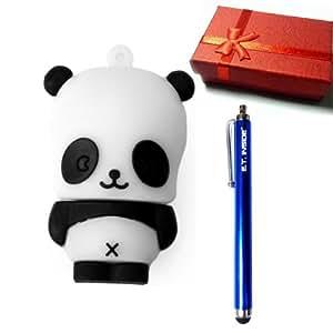 chine panda forme cl usb drive 4 go dans coffret cadeau avec e t inside marque stylo capacitif. Black Bedroom Furniture Sets. Home Design Ideas