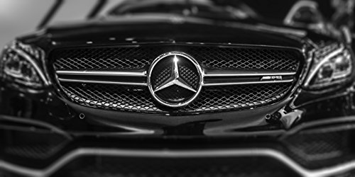 picture-of-a-mercedes-amg-black-and-white-sports-car-photo-with-mercedes-emblem-logo
