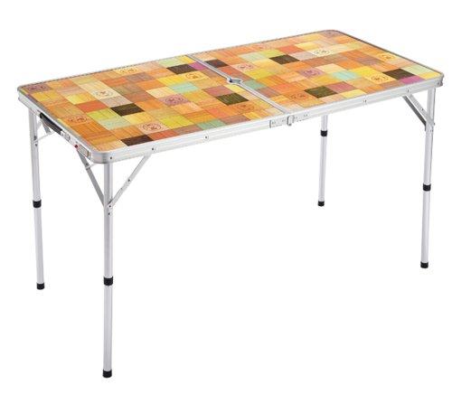 コールマン テーブル ナチュラルモザイク リビングテーブル/120 2000013120