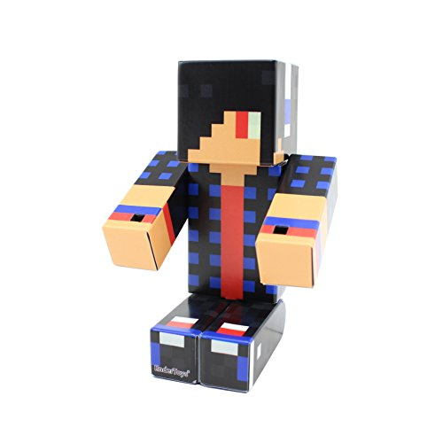 Zeky Pixelaction Figure by EnderToys - un Giocattolo di Plastica