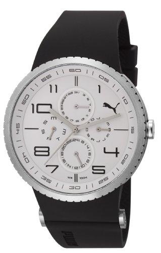 Esprit A.PU102931001 - Reloj analógico de cuarzo para hombre con correa de plástico, color negro