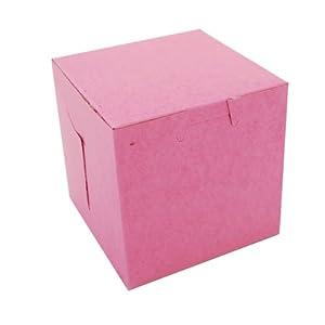 Pink Cupcake Bakery Box