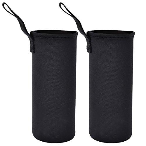 Outgeek 2Pack Bottle Sleeve Water Bottle Holder Neoprene Carrier 550ML Black (Insulated Bottle Sleeve compare prices)