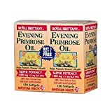 American Health Royal Brittany Evening Primrose Oil 1300 mg Softgels 120 + 120 FREE