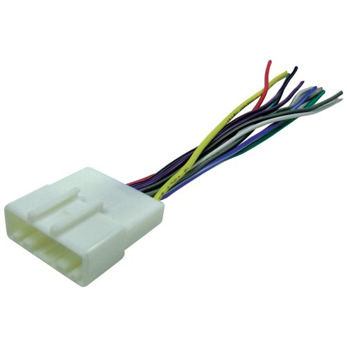 scosche radio wiring harness for 2007 up nissan car stereo connector