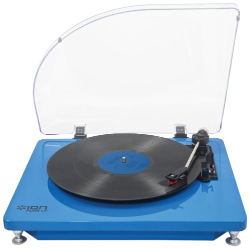 acheter ion audio pure lp platine vinyle usb bleu nouveau top produit. Black Bedroom Furniture Sets. Home Design Ideas