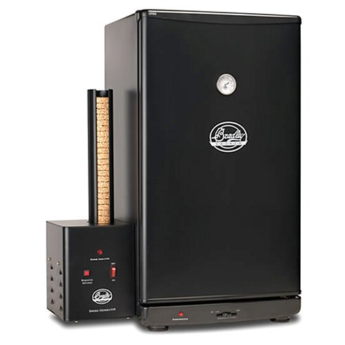 Review Bradley BTIS1 Original Fully Automatic 4-Rack Outdoor Food Smoker