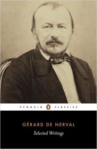 De Nerval: Selected Writings (Penguin Classics)