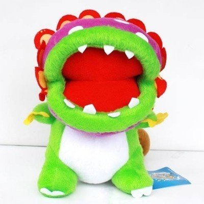 Dino Piranha Plush Doll Super Mario Brothers Figure Collectible Lovely Gift Animal Doll Flower