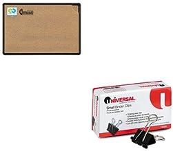 KITBLT300PBT1UNV10200 - Value Kit - Best-rite Black Splash-Cork Board BLT300PBT1 and Universal Small