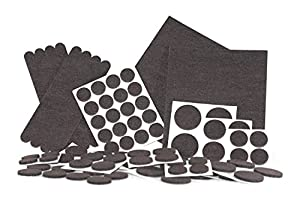 Felt Pads Heavy Duty Adhesive Furniture Pads Floor Protector For Tiled Laminate
