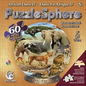 Cheap Fun Unicorn Enterprises A5042_6 African Oasis 6 Inch Puzzle Sphere 60 pc puzzle (B001341F4W)