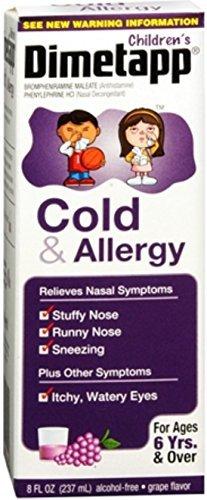 Dimetapp Children's Cold & Allergy Grape 8 oz by Dimetapp (Dimetapp Grape compare prices)
