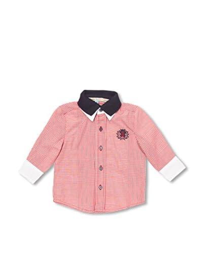 Trasluz Camicia Bimbo Hélène [Rosso Scuro]