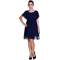 MEIRO High Quality Women's A-Line Dress, Designed in NYC