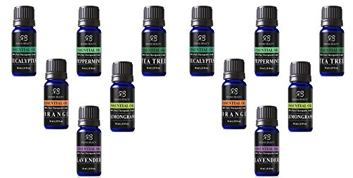 Aromatherapy-Top-6-Essential-Oils-100-Pure-Therapeutic-grade-Basic-Sampler-Gift-Set-Premium-Kit-610-Ml-Lavender-Tea-Tree-Eucalyptus-Lemongrass-Orange-Peppermint