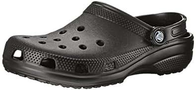 Crocs Unisex Classic Clog, Black, Women's 11 US M / Men's 9 US M