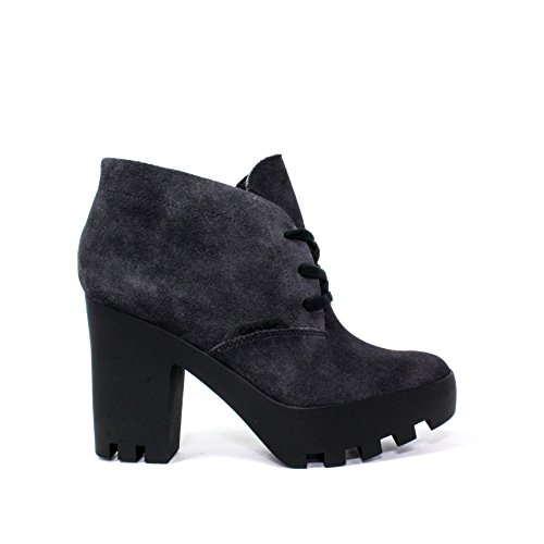 Calvin Klein Jeans CHAUSSURES FEMME Francesina POLACCHINO SNEAKERS haut talon LACE TANK RE9366 / EBY STEVIE AUTOMNE HIVER 2015-2016 MADE IN ITALY NOUVELLE COLLECTION 15/16 AW