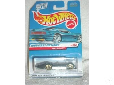 Hot Wheels 1999 First Editions #18/26 TurbolenceCol#923 - 1