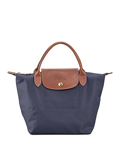 Longchamp discount duty free Longchamp Paris Le Pliage Small Handbag New Navy
