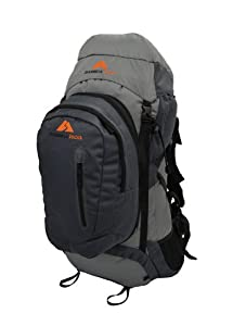 Guerrilla Packs Roundhouse Internal Frame Backpack, Middle Grey Dark Grey by Guerrilla Packs