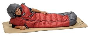 Exped DreamWalker 450 Sleeping Bag, Red/Grey, Medium