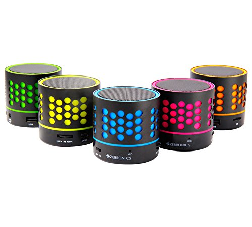 Zebronics Dot Bluetooth Speaker (Color may Vary)