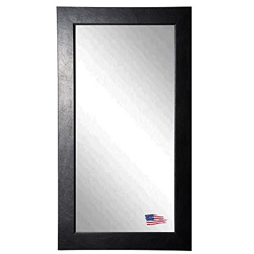 American Made Rayne Black Superior 30 X 65 Floor Mirror front-876451