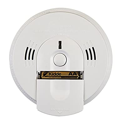 Kidde KN-COSM-IBA 21006377 Hardwire Combination Smoke/Carbon Monoxide Alarm with Battery Backup and Voice Warning, Interconnectable from Kidde