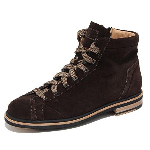 4693N polacchino SANTONI marrone stivaletti uomo boots men [10]