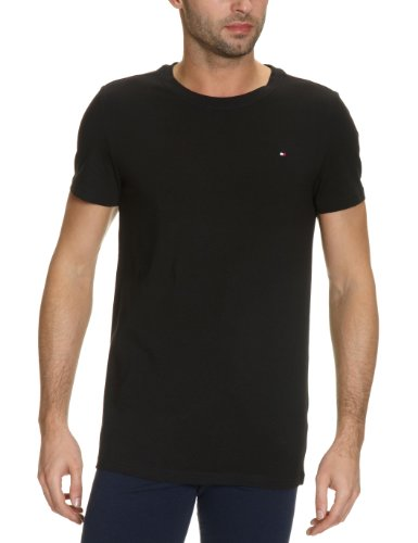 Tommy Hilfiger Mini Flag Shortsleeve T-Shirt Men's Loungewear Black X Large