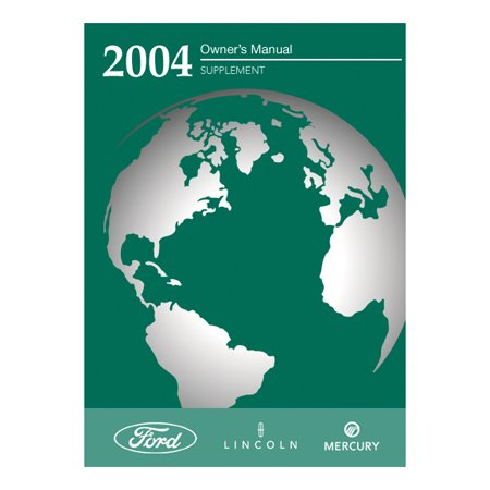 2004/2005/2006 Driving Your SUV Owner Manual Supplement (Paper)