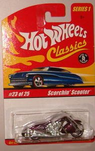 Hot Wheels Classic Series 1: Scorchin' Scooter #23 of 25