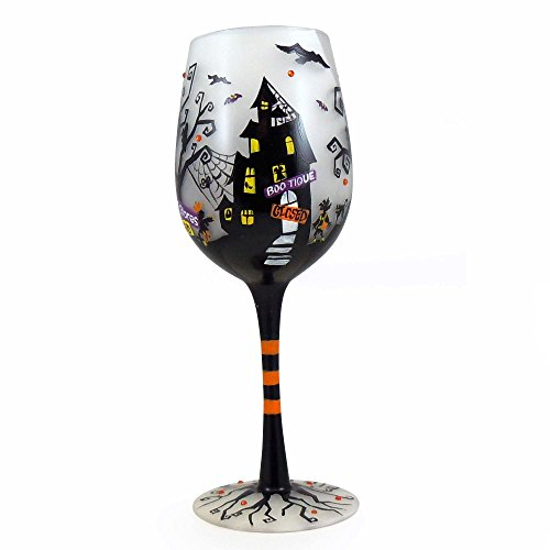 Enesco Lolita Wine Glass Fright Night Wine_Glass