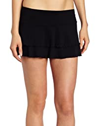 Body Glove Juniors Smoothies Lambada Skirt,Black,Small