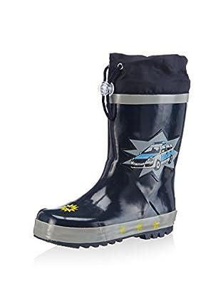 Playshoes Botas de agua Police (Azul Marino)
