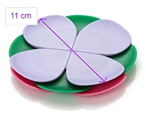 Eshop Silicone Flower Shaped Cup Coaster, Modern Kitchen Accessory+ Eshop Cable Tie