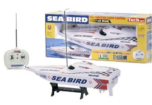 Golden Bright 1:25 Radio Control Sea Bird Boat Ready To Run