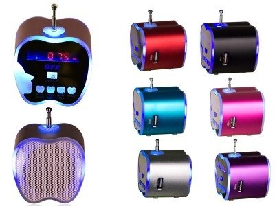 Qfx Cs82Usbk Portable Durable Speaker front-535163
