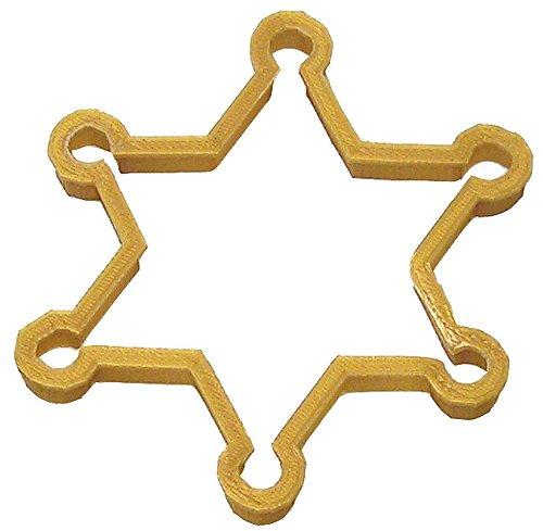 Sheriff Badge Plast-Clusive Cookie Cutter 4