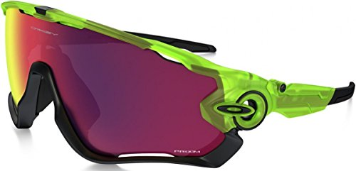 Oakley-Occhiali da sole, da uomo, Jawbreaker, Uranium collection Prizm road