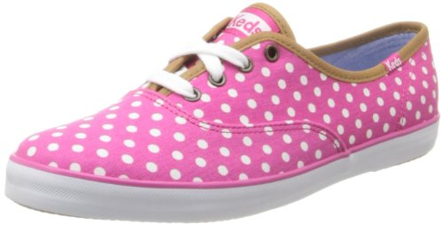 Keds, Donna, Champion Dot, Canvas, Sneakers, Viola, 38 EU