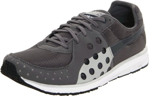 PUMA Unisex Faas 300 Sneaker, Steel Grey/New Navy/Silver, 11 B(M) US Women's/9.5 D(M) US Men's