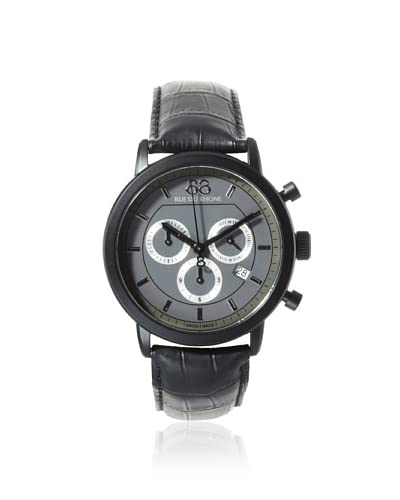 88 Rue du Rhone Men's 87WA130017 Black/Grey Stainless Steel Watch
