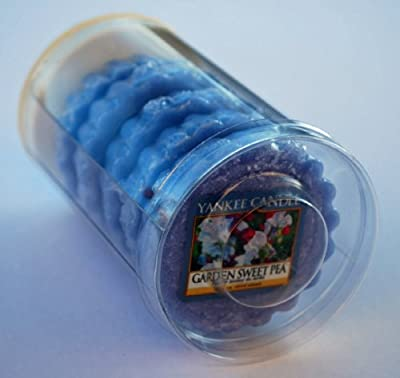 Yankee Candle - 5 X Garden Sweet Pea Wax Tarts In A Gift Tube by Yankee Candle