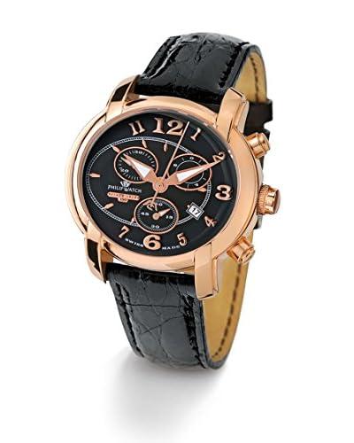 Philip Watch Reloj Swiss Made Anniversary Negro / Negro