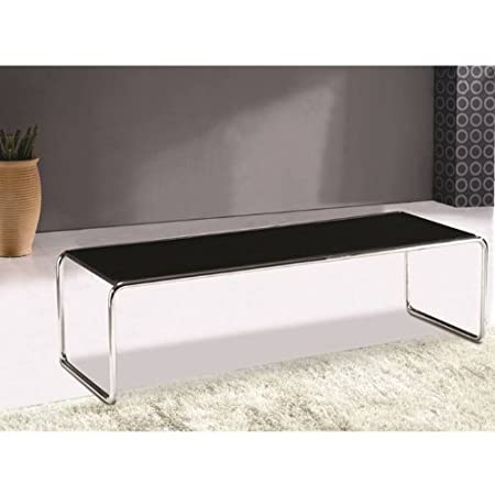 Long Nesting Coffee Table in Black